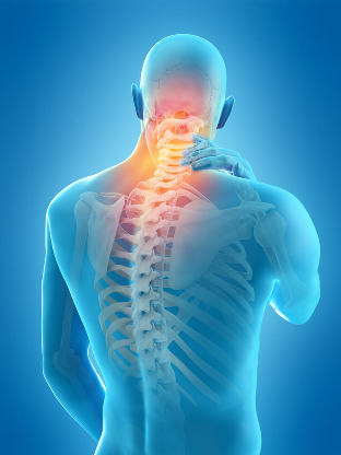 What does the occurrence of back PAIN on the right
